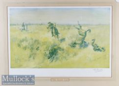 Lionel Edwards (1878-1966) 'The Kadir Cup' Signed Print in colour^ signed below to border^ framed