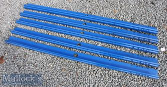 5x CycleRax Bicycle Parking System Frames measuring 152cm in length^ vertical cycle racks^ in A/G
