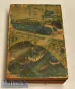 1920s/30s Children's Picture Block Puzzle – depicts 6 themes all military/transport related^