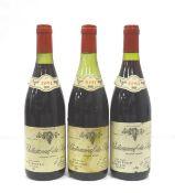 THREE E. LORON & FILS CHATEAUNEUF-DU-PAPE A selection of three bottles of Chateauneuf-du-Pape