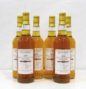 PORT CHARLOTTE 10Y0 - PRIVATE BOTTLING A nice looking case of six bottles of Port Charlotte 10