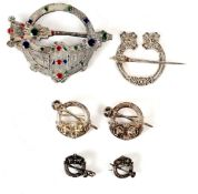 1907-19 Celtic Revival brooches,