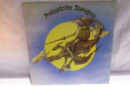 T-Rex - Futuristic Dragon (BLN5004) dark blue label