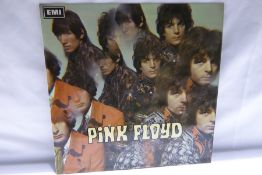 """Pink Floyd - Piper at the Gates of Dawn (SX 6157) - second pressing """"""""File Under POPULAR : Pop"""