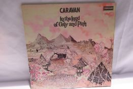 Caravan - In the Land of Grey and Pink ( SDL-R1) red label