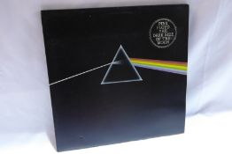 Pink Floyd - Dark Side of the Moon (SHVL804) 2nd issue? with stickers and posters