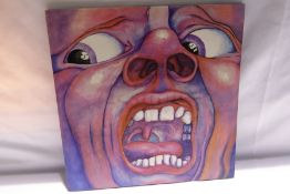 King Crimson - In The Court of The Crimson King (An Observation by King Crimson) (ILPS-9111)