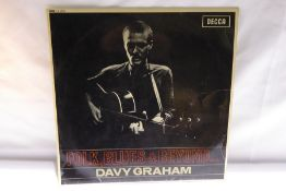 Davy Graham - Folk, Blues and Beyond (LK4649) - repaired tear to cover