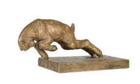 "Bronze Figure of a Lamb , after Paul Silvestre, signature and ""Susse Fr[ères] Ed[itions] Paris"""