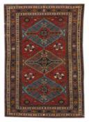 Semi-Antique Shirvan Carpet