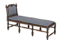 William and Mary Walnut Day Bed