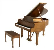 Steinway & Sons Baby Grand Piano and Bench