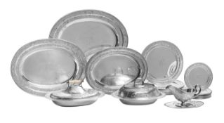 Large American Sterling Silver Dinner Service