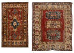 Two Uzbek Kazak Carpets