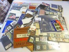 Stamps : GB Presentation packs year packs etc
