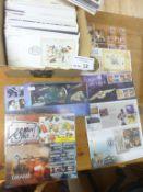 Stamps : GB Box of Royal Mail/Benham FDC's 2000-2