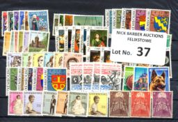 Stamps : Luxembourg –An accumulation of Charity sets