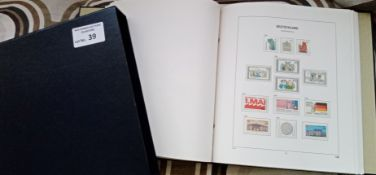 Stamps : West Germany in fine Hingeless Davo Album