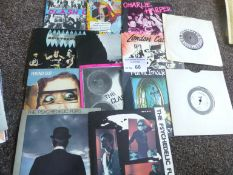 """Records : Punk nice collection of 7"""" singles (13)"""