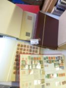 Stamps : 5 Albums of GB QV onward defs & commems -