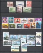 Stamps : Cocos & Keeling Small M/U collection in