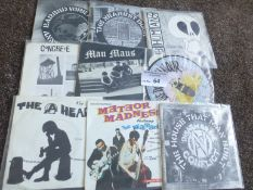 """Records : Punk (Crass) - collection of 7"""" singles"""