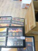Stamps : 1964-2008 Presentation packs in albums