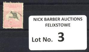Stamps : Australia 10/- Roo Fine Used SG 136