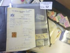Stamps : Box including useful GB, France, KGVI etc