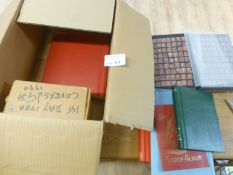 Stamps : Box of 6 albums all GB fine used QV-QEII