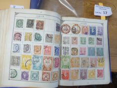 Stamps : Well filled old Lincoln Stamp album