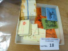 Stamps : 50 Two Shilling booklets & original vendi