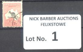 Stamps : Australia £2 Roo Superb Used SG 138