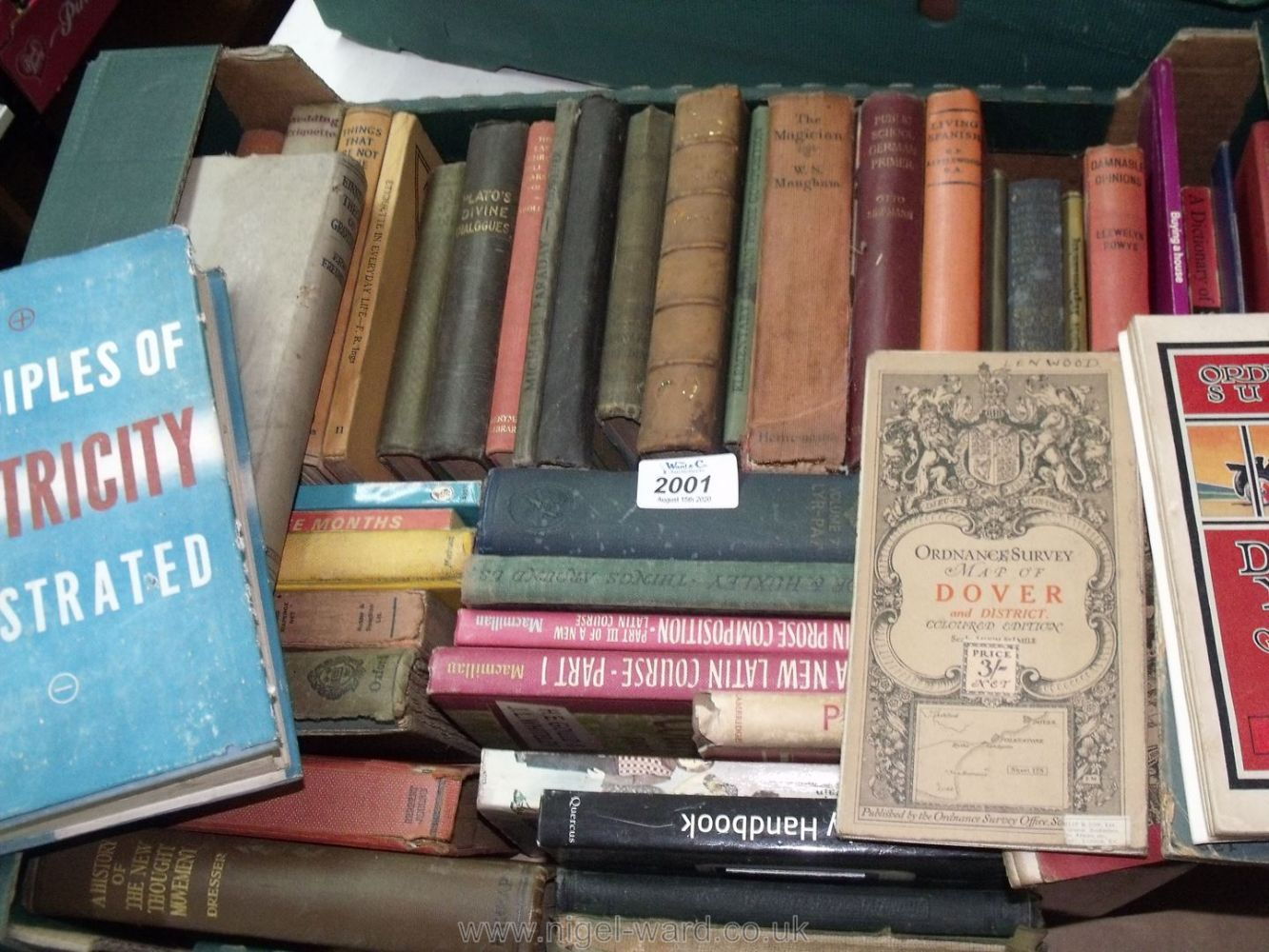 Online Only August Auction of Books, Oil Paintings, Watercolours & Prints, Brass, Copper & Pewter, Silver, Silver Plate & Jewellery