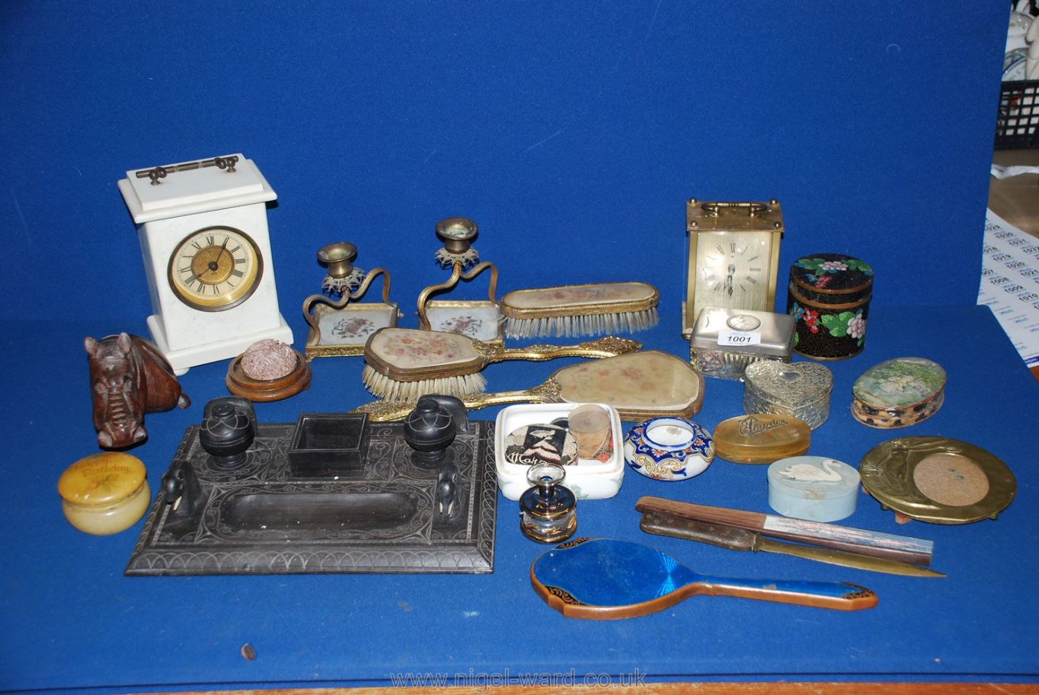 Online Only October Auction of Miscellaneous Objets d'Art, Collectables, Porcelain, Glass, Antique & Country Furniture