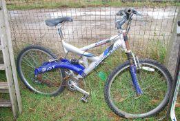 A Barracuda Riot bike.