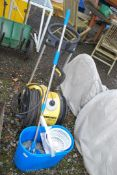 A Mops bucket and a K'Archer 650 M pressure washer, (Needs Attention, Not Working).