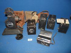 A quantity of boxed Cameras including Kodak no.