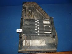 A Victorian Zither, 20'' x 12'',