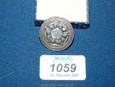 A Birmingham 1946 hallmarked badge for KGVS, the initials within the Tudor rose,