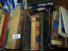 A box of books to include Mutiny by Frank Tilsley, Highways and Hedges by Benger and Morrah, etc.