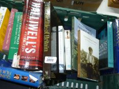 A crate of books to include Golden Valley Voices, Film guides etc.