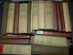 A quantity of The Dairy Shorthorn year books and Coates's Herd book.