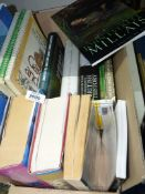 A box of books to include Italian Baroque Sculpture, British History, Gardening etc.