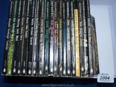 Nineteen volumes of The Penguin Modern Poets.
