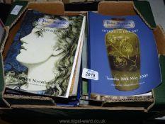 A quantity of Antique Auction Catalogues.