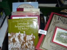 A box of books to include Orcop by Delphine Coleman, Garway Hill Through The Ages,