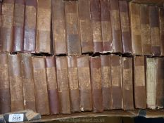 A box of Waverley novels to include The Talisman, Guy Mannering, The Betrothed, etc.