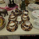 A Royal Albert tea service