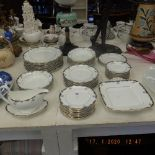 A Wedgewood dinner service